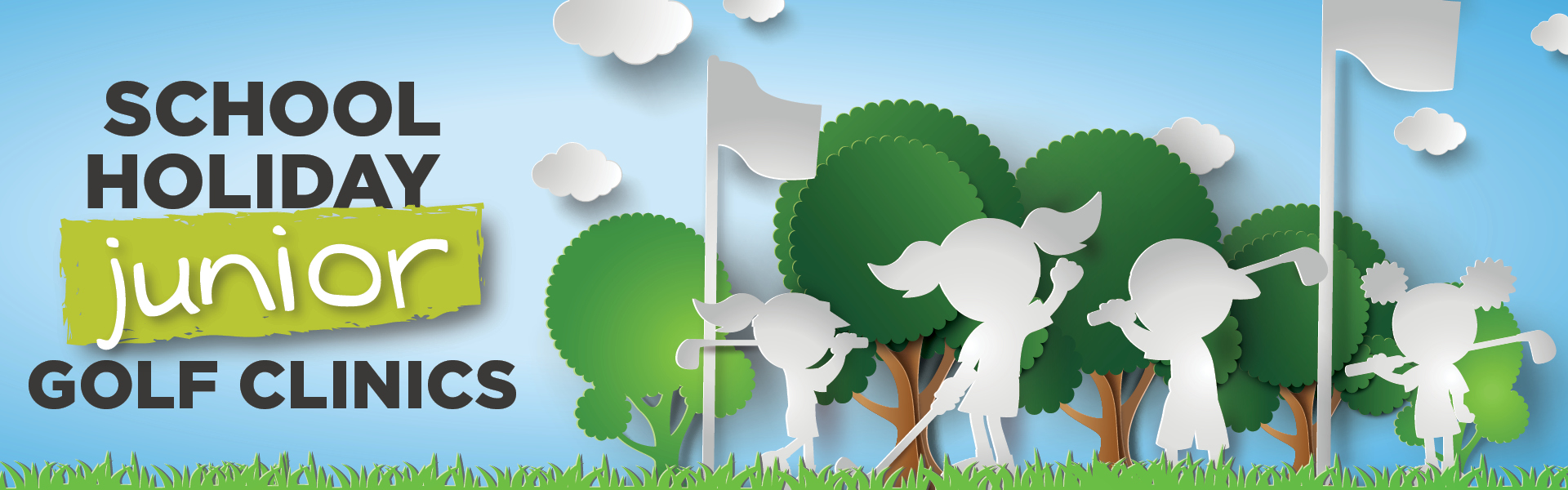 School Holiday Junior Golf Clinics